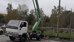Аренда маленькой автовышки в Минске avtovyshka-minsk.by